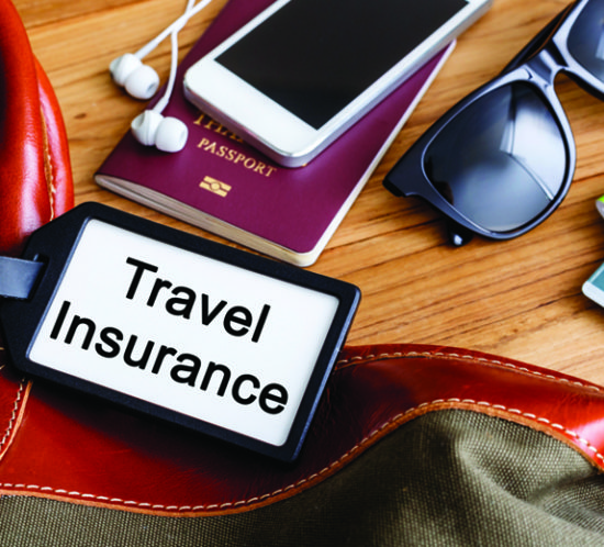 Can you use the travel insurance on your packaged bank account?